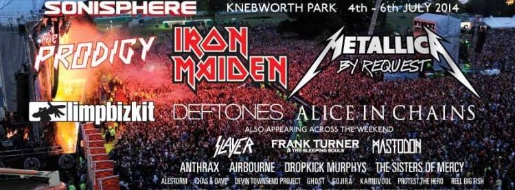 Sonisphere Festival, UK